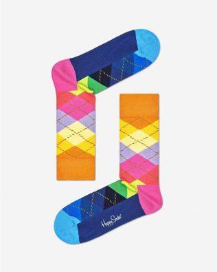 Skarpetki – szkocki wzór, kolorowe