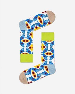 Skarpetki – hipnotyzujące oczy i ręce, kolorowe