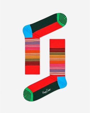 Skarpetki – kolorowe paseczki, kolorowe
