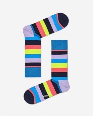 Skarpetki –  klasyczne poziome paski, kolorowe
