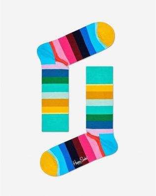 Skarpetki – tęczowe pasy, kolorowe