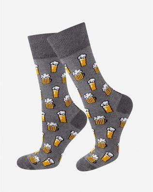 Skarpetki – piwa, szare