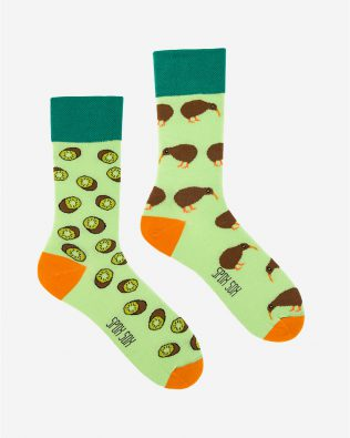Skarpetki – kiwi, zielone