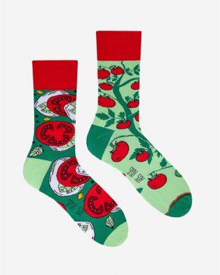 Skarpetki – pomidory, zielone