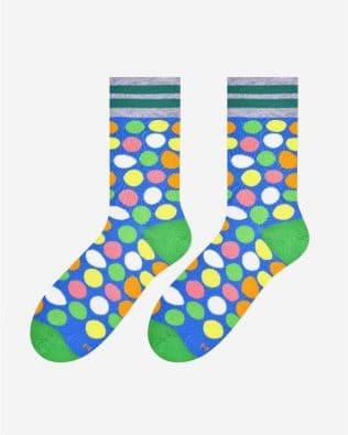 Skarpetki – kolorowe dropsy, niebieskie