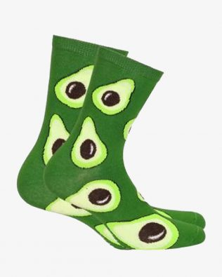 Skarpetki – awokado, zielone