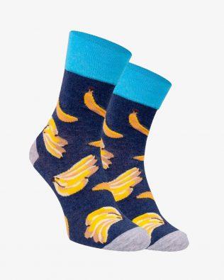 Skarpetki – banany, granatowe