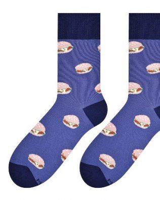 Skarpetki – hamburgery, jeans