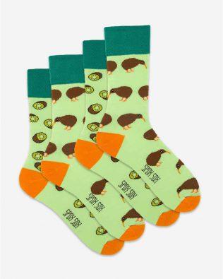 Skarpetki – 2-pak, kiwi, zielone